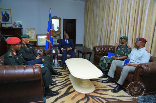 RDC-Rwanda : les patrons de deux armées échangent sur la possibilité d'élaguer l'insécurité dans la région