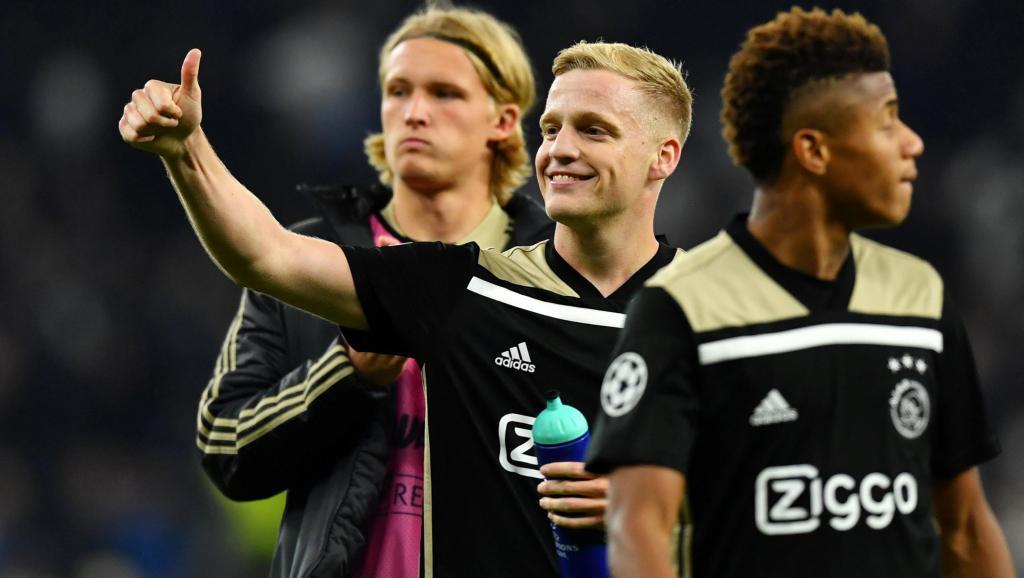 FOOT : Ligue des champions: l'Ajax à une marche de la finale