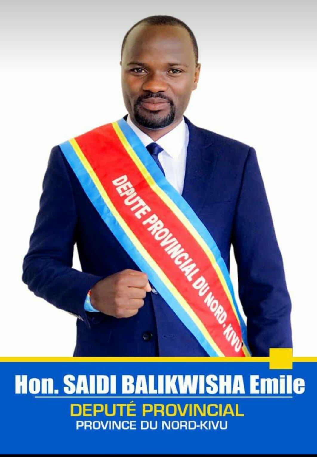 ©Ph Saidi Balikwisha élu provincial du territoire de Beni