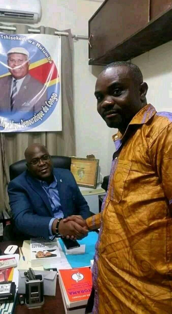RDC- Entre l'action de solidarité et la campagne de stigmatisation contre la délégation présidentielle le choix est claire : le communicateur au sein de l'UDPS Sud-kivu rural en parle