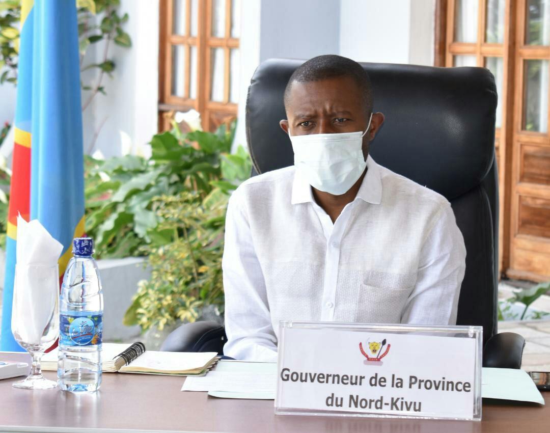 Nord-Kivu- Covid-19 : le Gouverneur du Nord-Kivu,  NZANZU KASIVITA CARLY va-t-en-guerre contre, les brebis galeuses au sein des forces de l'ordre et sécurité qui chercheront à profiter de la période d'isolement des villes de la province du Nord-Kivu, pour tracasser la paisible population