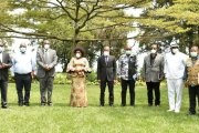 Nord-Kivu - lutte contre le Covid-19 : le Gouverneur Nzanzu Kasivita Carly a reçu en audience les responsables des hôpitaux et centres hospitaliers de Goma