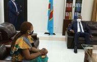 Sud-kivu-lutte contre le Covid-19 - caisse provinciale de solidarité : le Gouverneur Théo Kasi a reçu Madame Christelle Iranga Kabundula