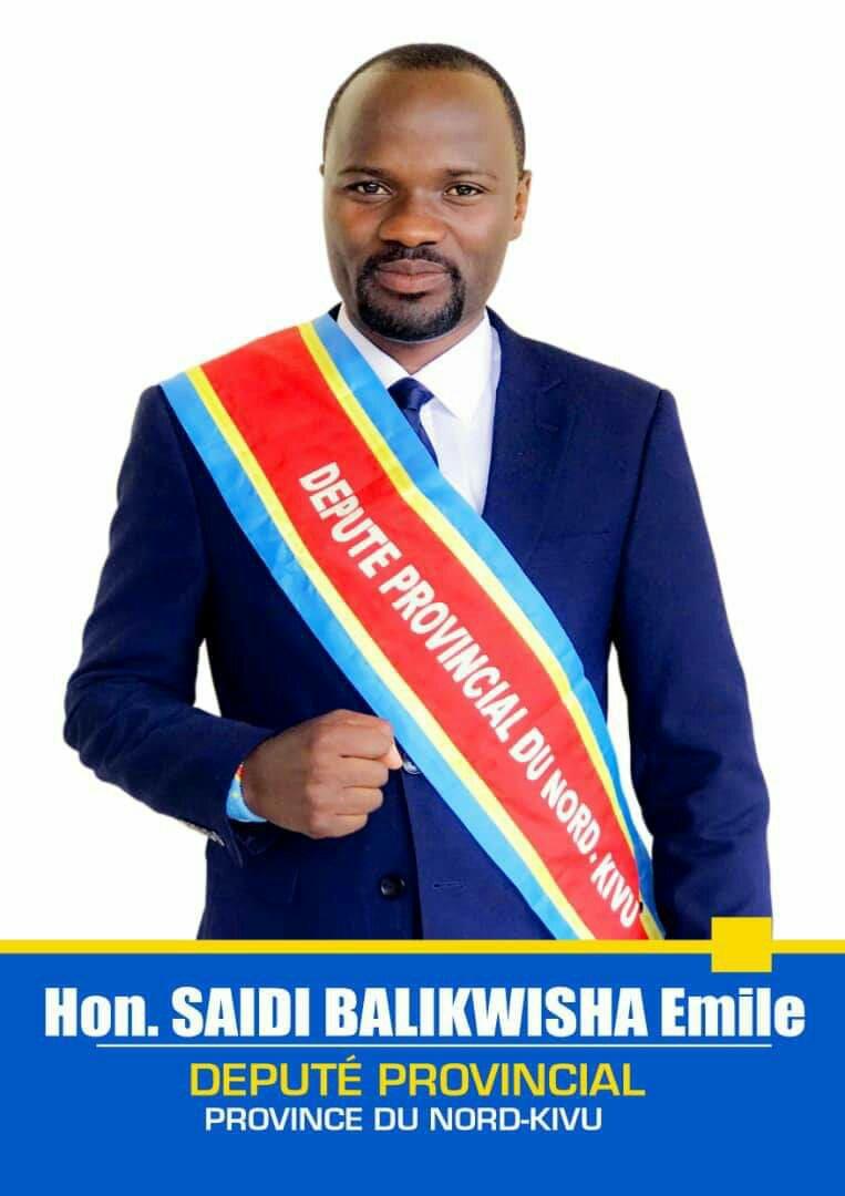 Nord-kivu- de tueries en répétition en territoire de BENI: l'honorable Saidi BALIKWISHA pense qu'il y aurait détournement de fonds alloués aux opérations militaires contre ADF en territoire de BENI ce qui serait a la base d'une sorte de démotivation côté militaires ce dernier temps