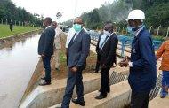 Sud-kivu: Le Gouverneur Théo NGWABIDJE KASI a visité l'usine de captage et de traitement d'eau de Murhundu dans le territoire de kabare