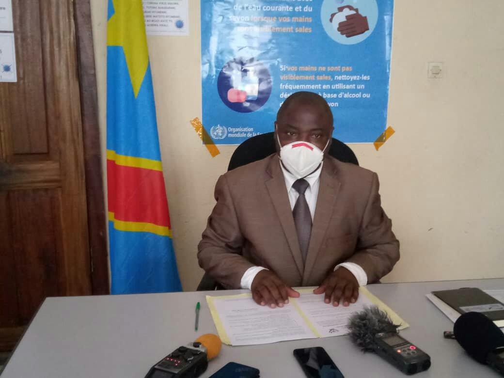 Nord-kivu- Covid-19: Le Ministre Moïse Kakule Kanyere rappelle la population à l'observance des mesures édictées par le Gouvernement