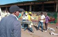 Sud-kivu- début du confinement de la commune d'Ibanda : le Gouverneur Théo Kasi lui même en personne sur terrain