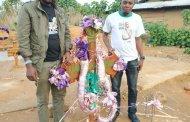 En séjour à Beni, Saïdi Balikwisha s'est incliné devant la tombe de Freddy Kambale