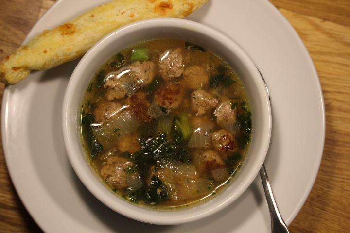 Light Italian Wedding Soup – gluten free