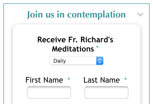 Richard Rohr's Daily Meditations