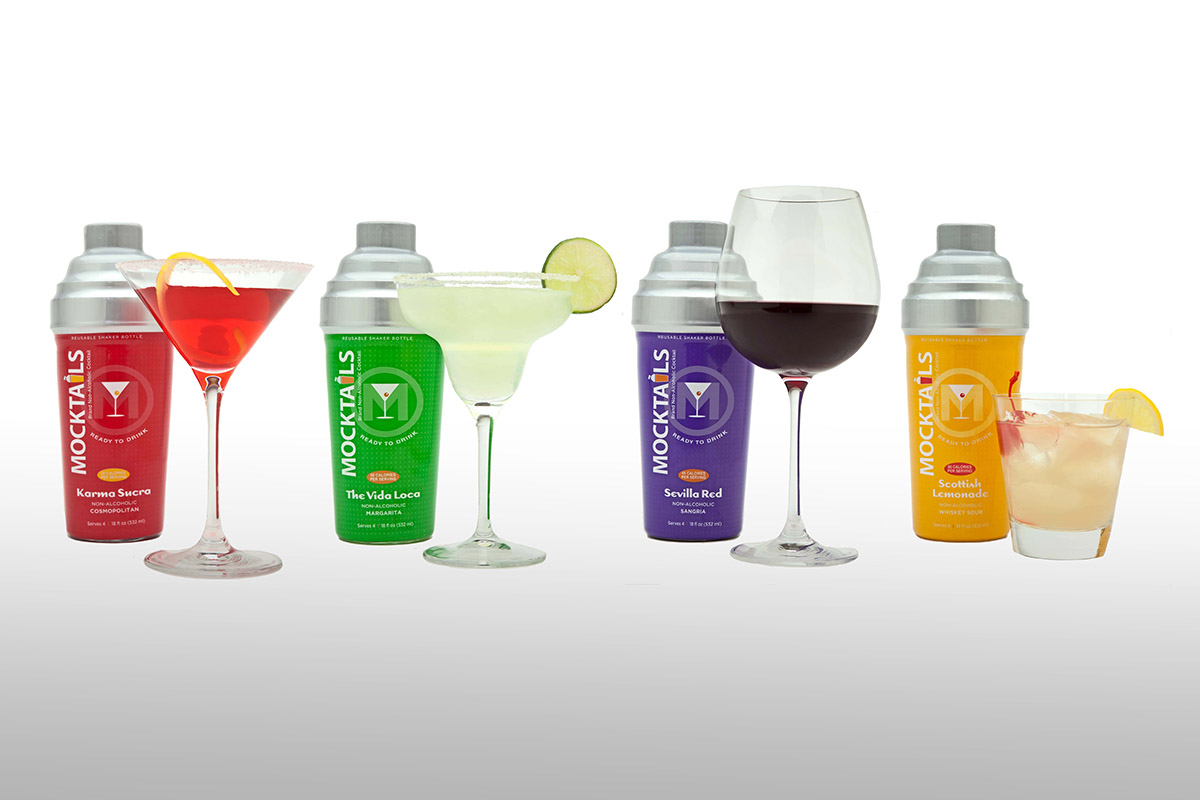 Mocktail beverage lineup