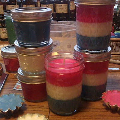 Americana 8 Ounce Jar Candle