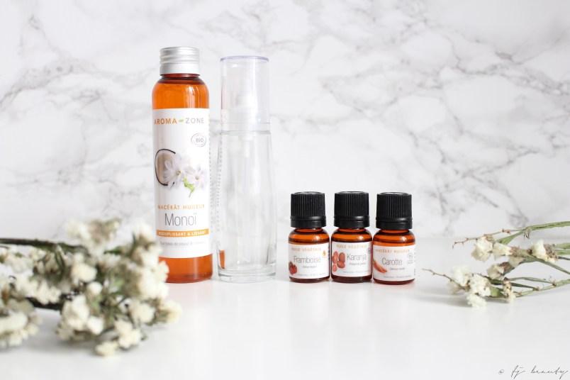 diy huile irisée naturelle