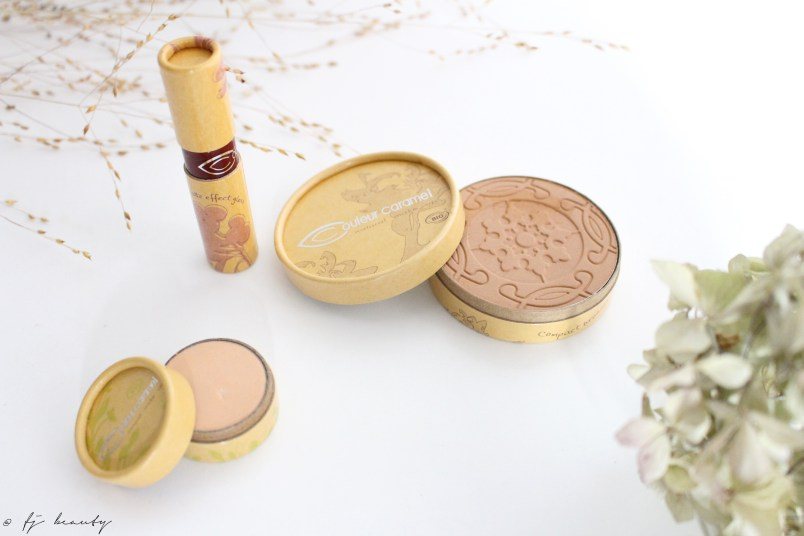 maquillage bio couleur caramel