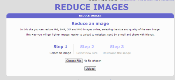 reduce images