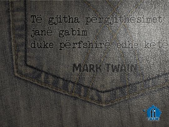 Mark Twain pergjithesimet