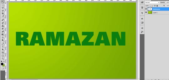 tekst efekt ramazan 2