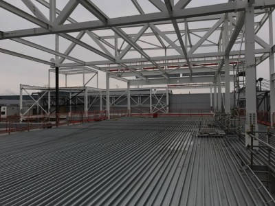 Heathrow Permanent FCC Structural Steelwork