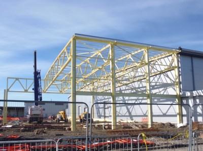 BBAE Samlesbury 430 Structural Steelwork