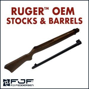 Ruger™ Factory Barrels & Stocks