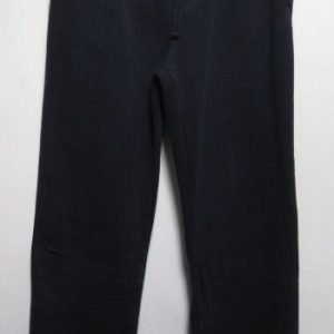 Navy cotton tracksuit bottoms