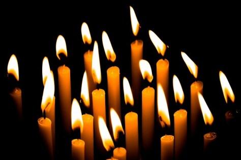 和蠟燭の灯り