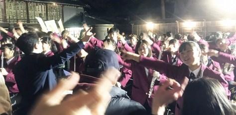 埼玉県立不動岡高等学校吹奏楽部による演奏
