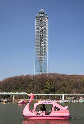 東山スカイタワー(134m 愛知県名古屋市) 全日本タワー協議会HPから引用