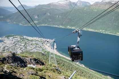 Romsdalen Gondola - foto: Romsdalen AS