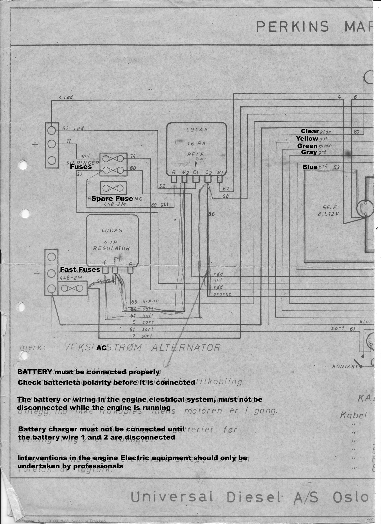 Fjord Electrical Diagrams