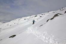 Descent from Kongsvollen