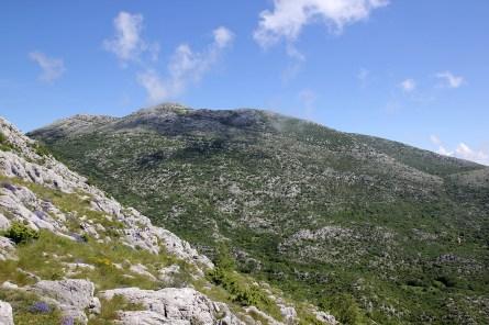 Descent - view towards Sibenik