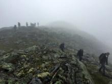 A real fog hike!