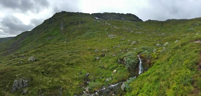 Near Vasskaret, towards Vardefjellet