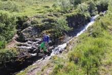 Crossing the creek
