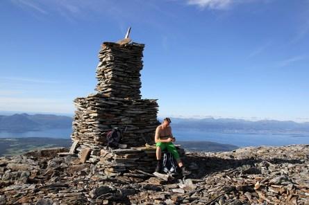 On top of Remmemstinden
