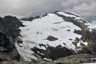 Glacier below point 1443m