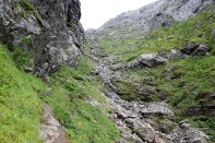 View up Lundaskaret