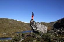Today's climb. Hard enough...