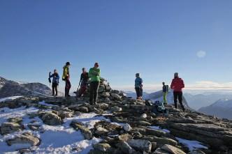 On top of Høghornet