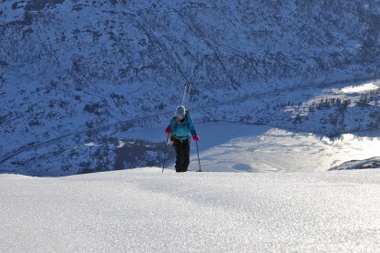 On crampons in the final hill