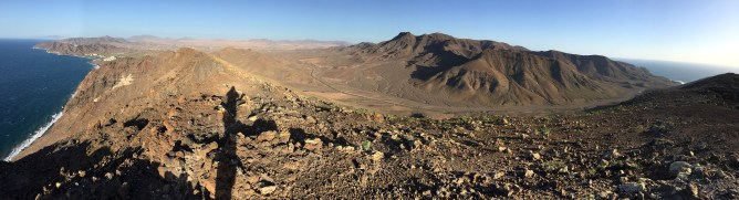 Summit view (2/2) - towards Vigan