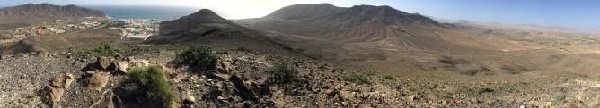 Summit view. Risco de los Colinos to the right