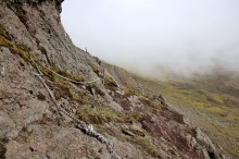 Towards the gully (looking back)