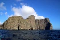 Vágar cliffs