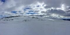Geitryggen and Tjønnsæterfjellet ahead