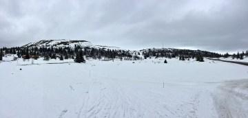 Towards Trabelifjellet