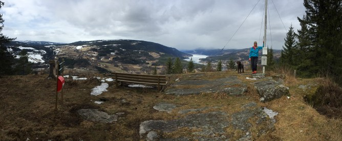 On top of Vardkampen