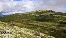 Looking back on Svartfjellet