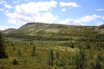 Looking back on Dynjefjellet